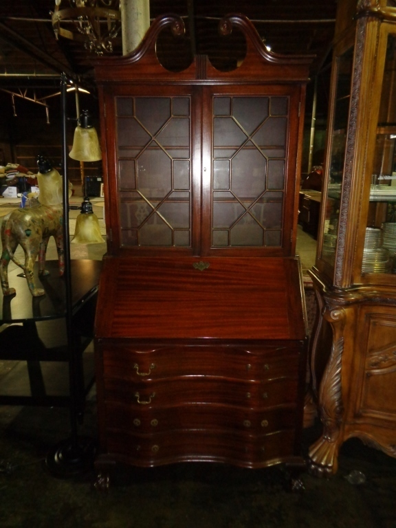 Antique Secretary & Hutch