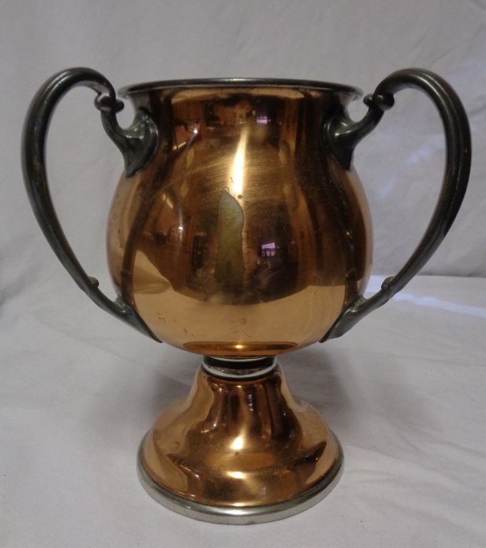 Copper Three Handled Loving Cup