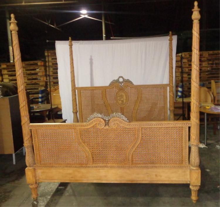 Drexel King French Bed