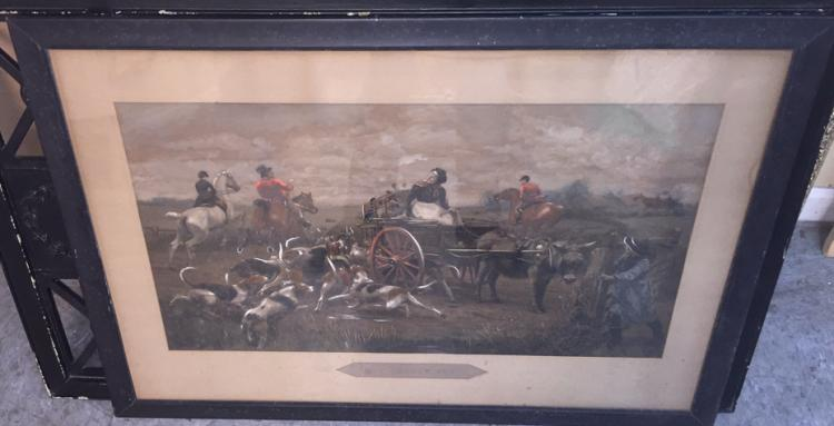 Framed Painted Print