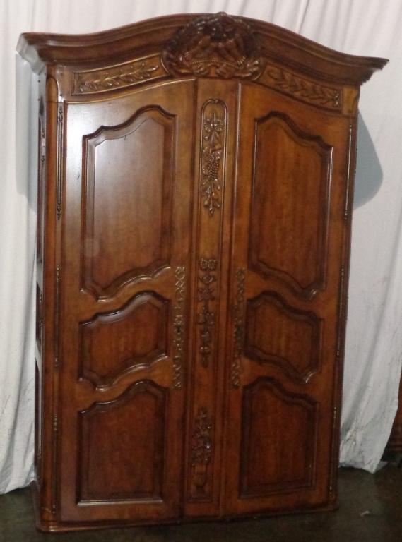 Large Mahogany Armoire