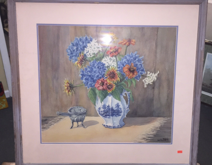 Nancy Whitbread Framed Watercolor