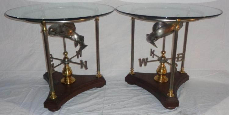 Pair Of Bob Timberlake Side Tables