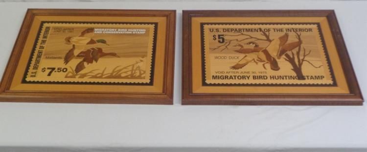 Pair Of Us Dept Of The Interior Framed