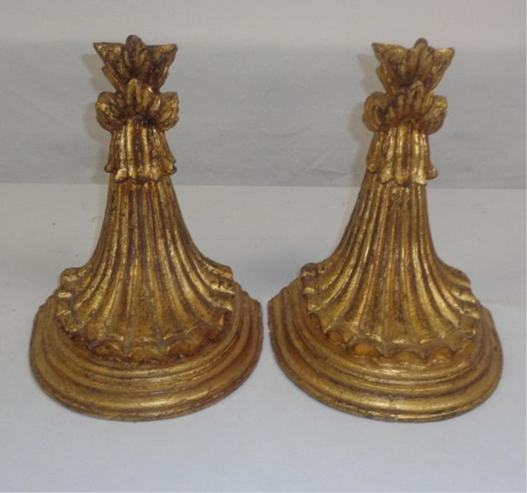 Small Gold Gilt  Shelf's