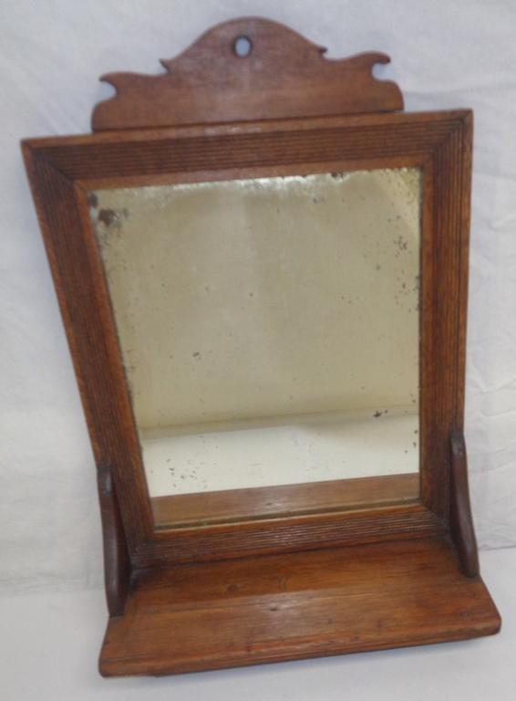 Small Mahogany Dresser Mirror
