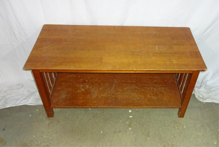 Stickley Style Coffee Table