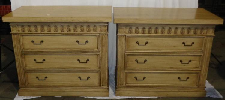 PAIR OF DRESSERS/BEDSIDE TABLES