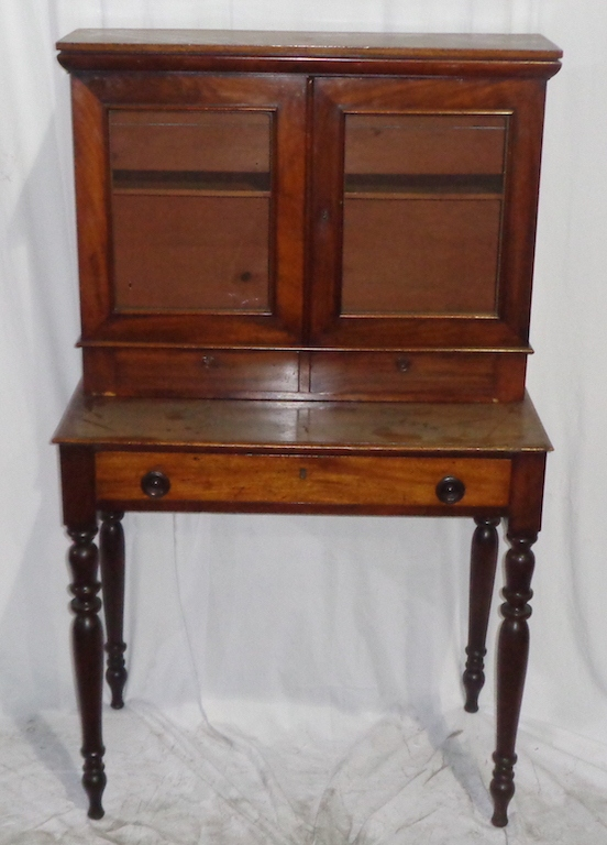 Fetching Small Scale English Antique Secretary