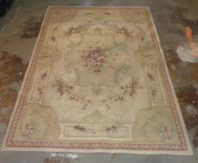 Needle Point Loop Rug