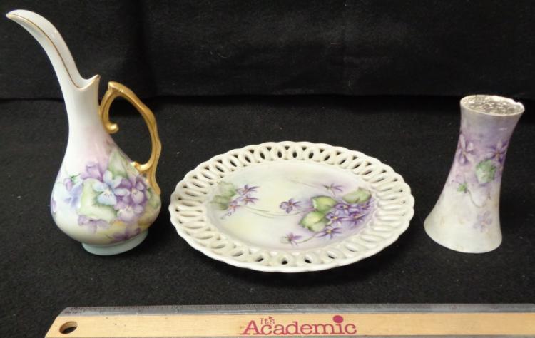 Austria Vanity Set-purple 3 Pieces