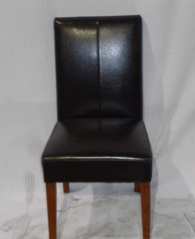 Expresso Leatherett Chair