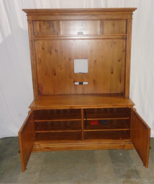 Heart Pine Entertainment Center