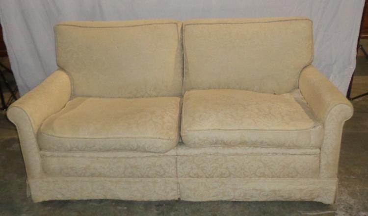 Mid Century Modern Straight Line Sofa