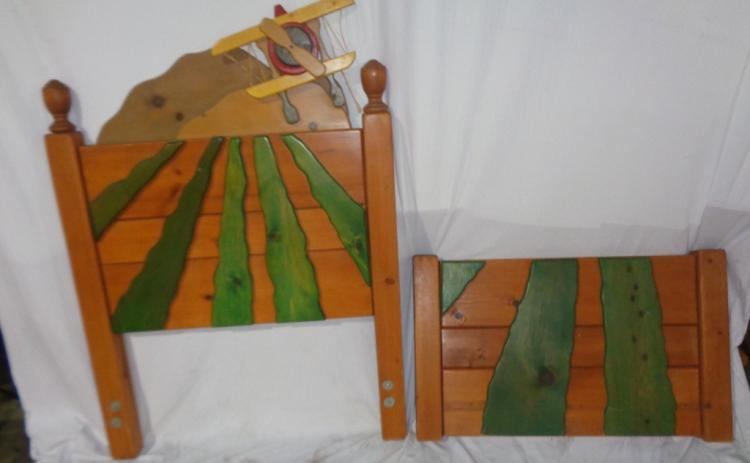Pair Of Children's Twin Beds