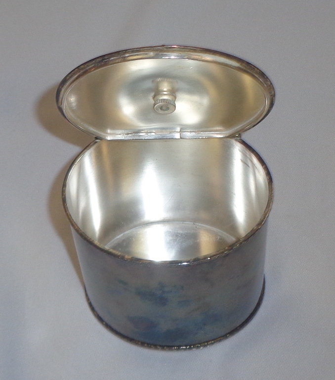 Silver Plate Canister