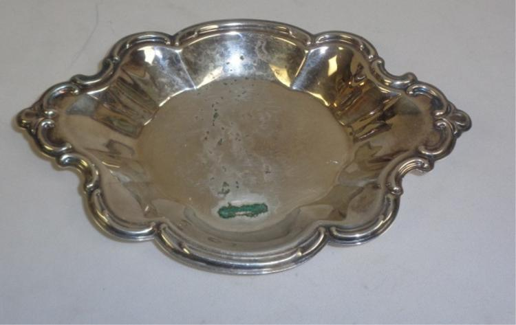 Silver Plate On Copper Tray
