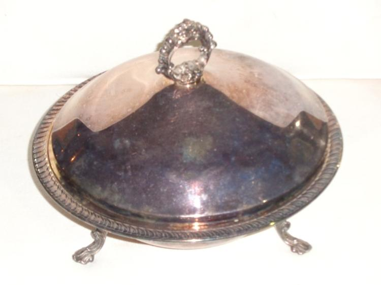 Silver Plate Serving Trays