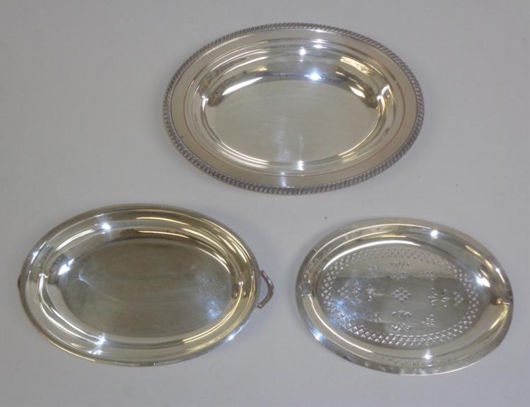 Silver Plated Covered Serving Dish