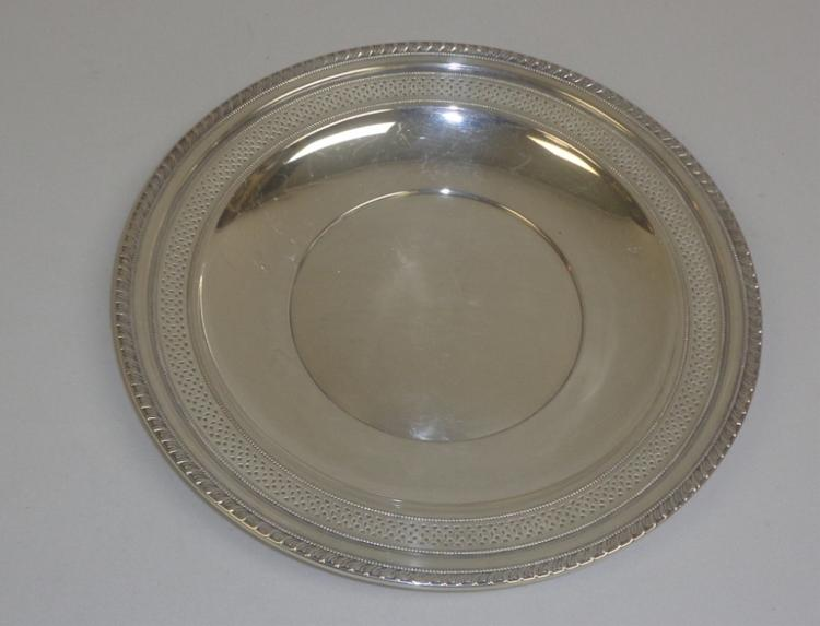 Silver Platted Serving Tray