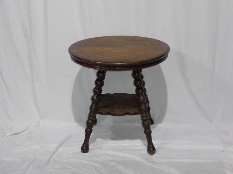 Victorian Oak Parlor Stand