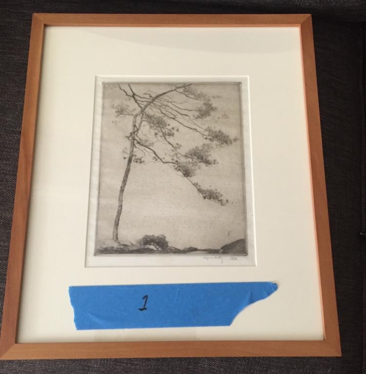 Alfred Hutty  Original Classical  Tree (Pulled till November Auction)