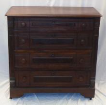 Antique Mahogany East Lake Dresser W 40.5 H 40.5 D 20