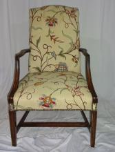Arm Chair With Floral Fabric 23x30x42