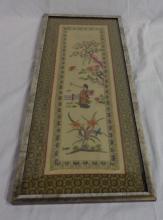 Asian Silk Art 24x10
