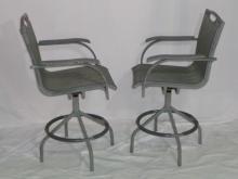 Pair Of Bar Chairs 25x22x45.5