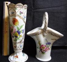 Paris Royal Vases (b5) 2 Pieces 10