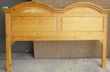 Pine King Headboard And Frame