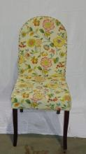 Flowered Desk Chair