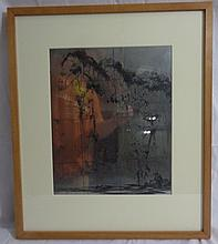 Alfred Hutty Original Plate, Carolina Pines, 1935