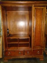 Large Mahogany Armoire/entertainment Center