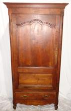 Vintage French Reproduction Cherry Armoire