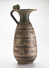 Etrusco Corinthian Black Figured Ople