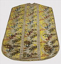 19th Century Italian Vestment and Chalice Cover