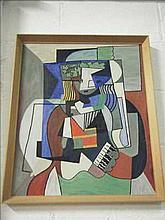 Painting of a Picasso