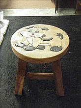 Dog childs stool