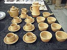 Poole coffee and tea set
