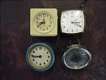 4 Clocks for spares and parts