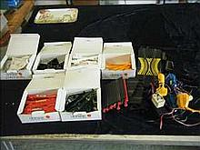 Scalextric car controllers and track accessories