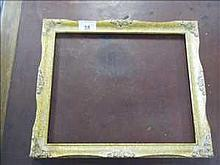 Set of 6 new antique effect picture frames