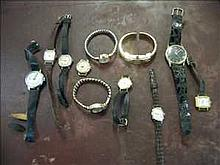 Collection of vintage ladies watches for spares