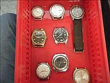 Collection of 8 working vintage watches inc.