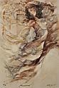 A GARY BENFIELD SILK SCREEN, Renaissance, signed, Gary Benfield, Click for value