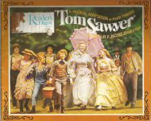 Tom Sawyer the musical program. 1973, UNSIGNED. Good Condition. All signed items come with our
