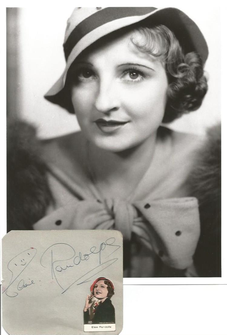 picture Elsie Randolph