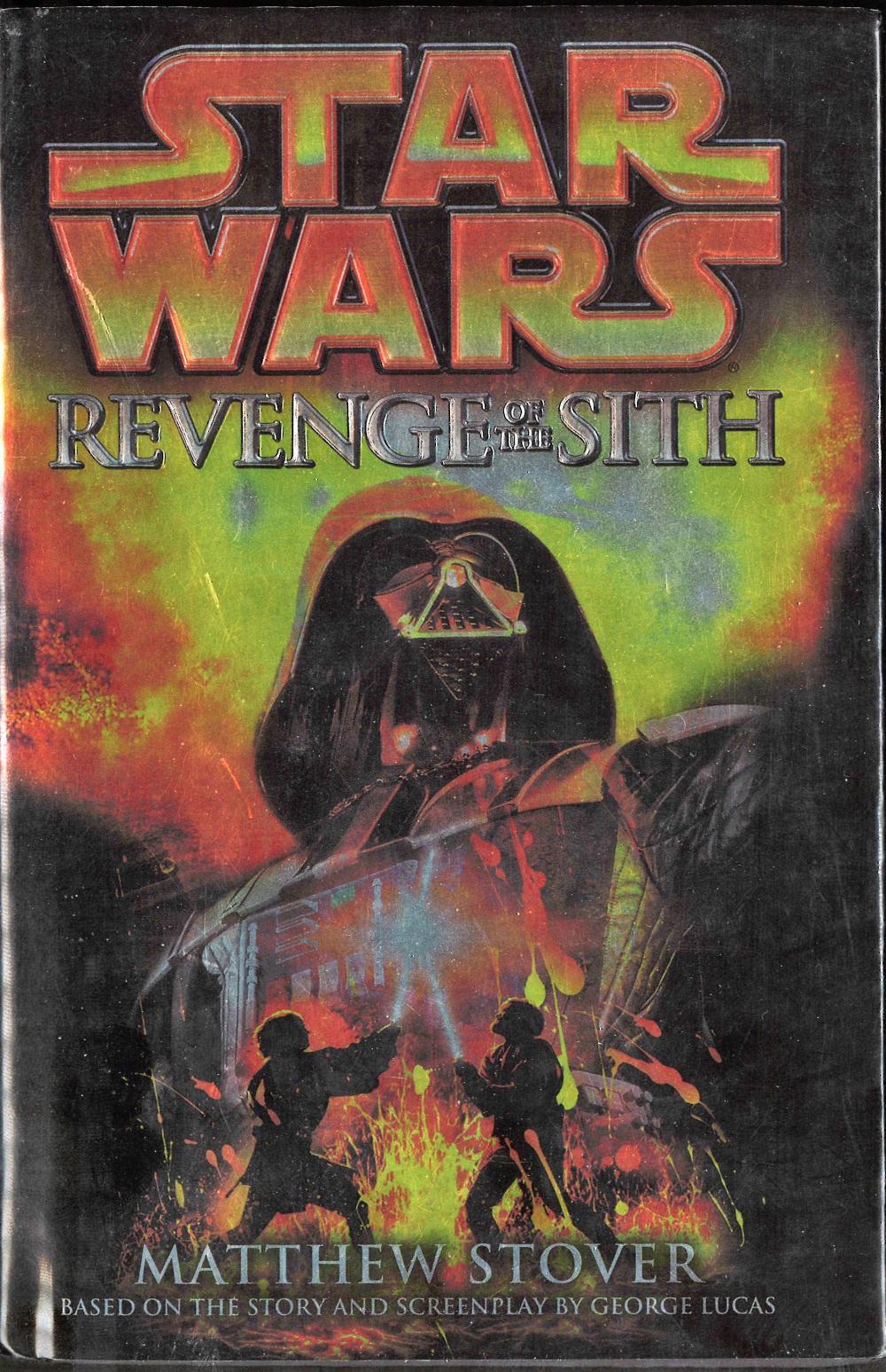 Matthew Stover Signed Star Wars Revenge Of The Sith Hardba